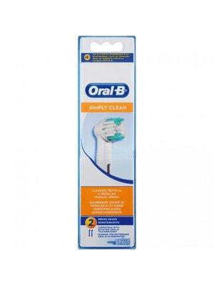 Oral B Oral-B Opzetborstels - Simply Clean 2 Stuks