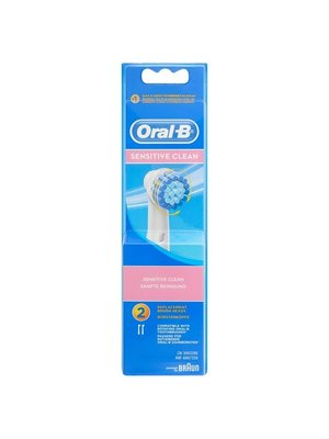 Oral B Oral-B Opzetborstels - Sensitive Clean EB-17-2 2 Stuks