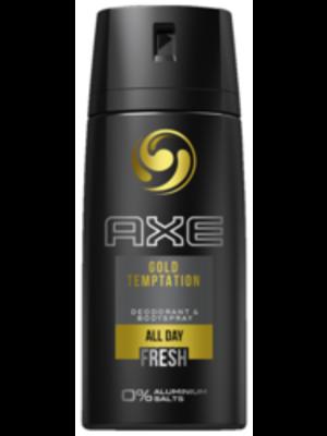 Axe Axe Deodorant Spray Gold Temptation - 150 Ml