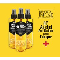 Immortal infuse lemon cologne 80% alcohol 150 ml spray