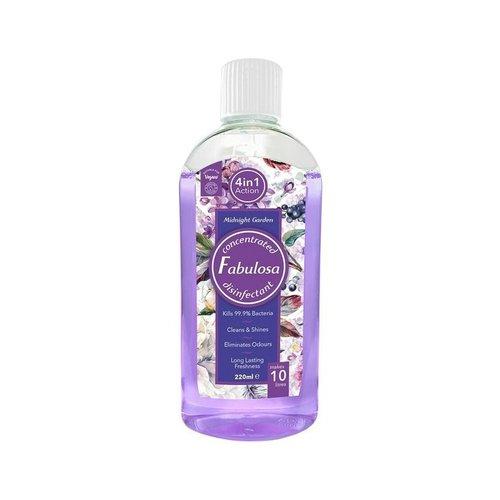 Fabulose Geconcentreerde Antibacterieele Allesreiniger -  Midnight Garden 220 ml