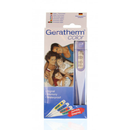 Lifetime Geratherm color Digitaal thermometer - 1 Stuks