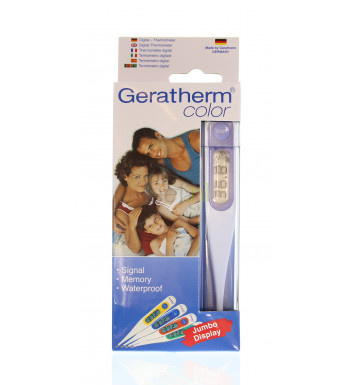 Image of Lifetime Geratherm color Digitaal thermometer - 1 Stuks