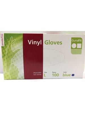 Lifetime Gunafit Handschoenen - Vinyl Maat Large 100 Stuks