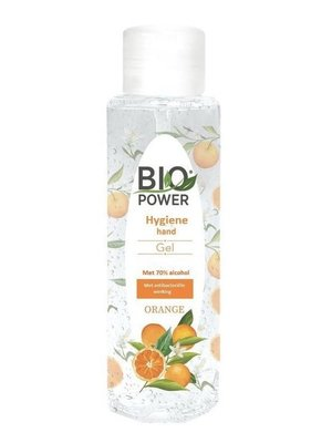 Biopower Biopower Handgel - Sinasappelgeur 70 % Alcohol 100 ml