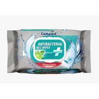 Ultra Compact - Antibacterial Wet Wipes 100 Stuks