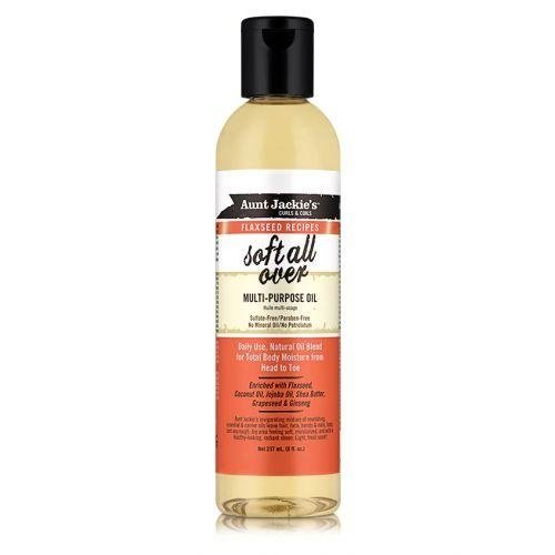 Aunt Jackie's Aunt Jackie's Curls & Coils Flaxseed Recipes - Soft All Over Multi-Purpose Oil 237 Ml