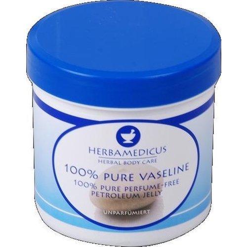 HERBAMEDICUS Herbamedicus 100% pure vaseline petroleum jelly parfum vrij 250 ml