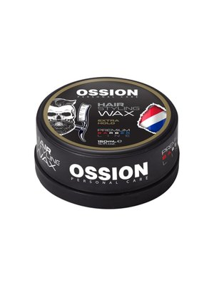 Ossion Ossion Hair Styling Wax - Premium Barber Line  Extra Hold 150ml