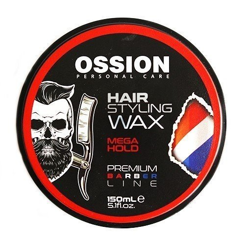 Ossion Ossion Hair Styling Wax - Premium Barber Line  Mega Hold 150 ml