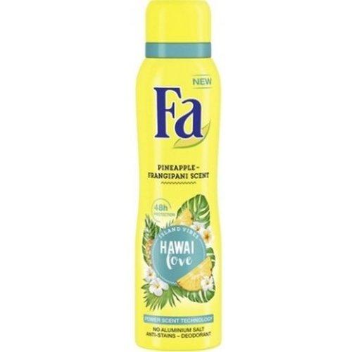 Fa Fa Deodorant - Hawai Love Pineapple-Frangipani Scent 150 ml