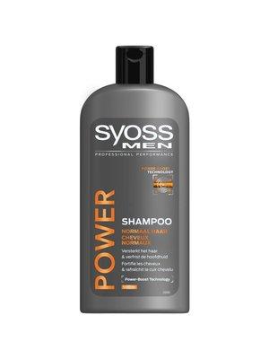 Syoss Syoss Men Shampoo - Power 500 ml