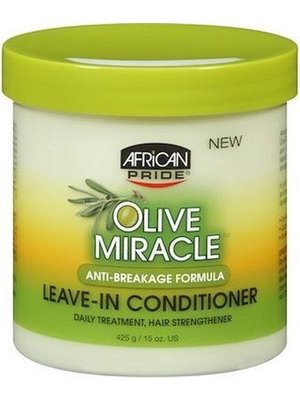 African Pride African Pride Olive Miracle - Leave-In Conditioner  425 Gr