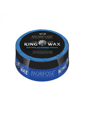 Morfose Morfose king wax extra strong 175 ml blauw