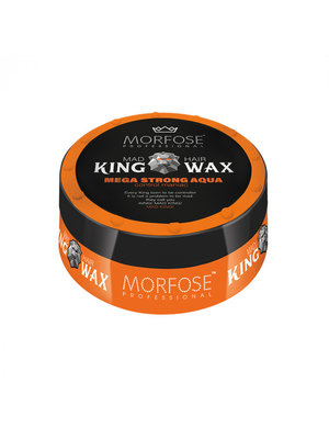 Morfose Morfose king wax mega strong oranje 175 ml