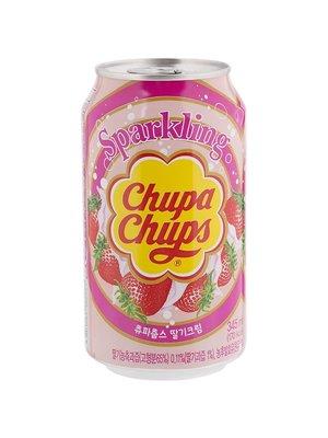 Chupa Chups frisdrank aardbei 345 ml