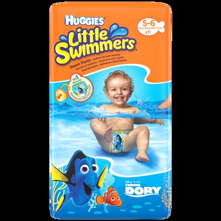 Image of Huggies Huggies Little Swimmers 5-6 12-18kg 11 stuks