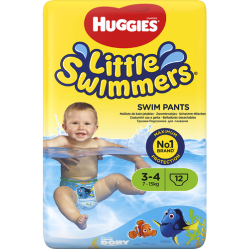 Huggies Huggies Little Swimmers 3-4 7-15kg 12 stuks