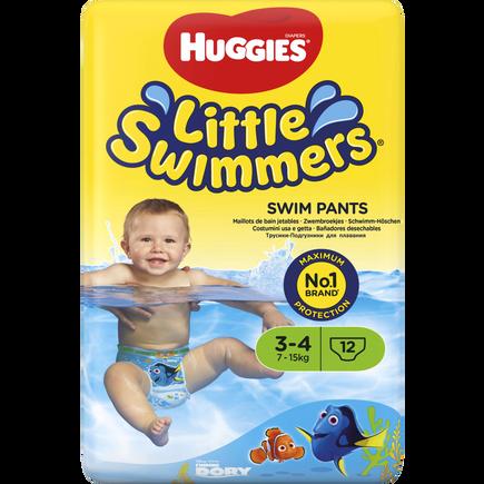 Image of Huggies Huggies Little Swimmers 3-4 7-15kg 12 stuks