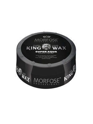 Morfose Morfose King Wax - Super Aqua Zwart 175 ml