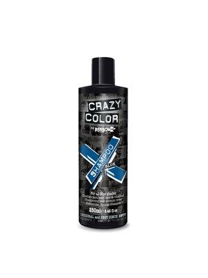 Crazy color Crazy Color Shampoo -  Blue 250 ml