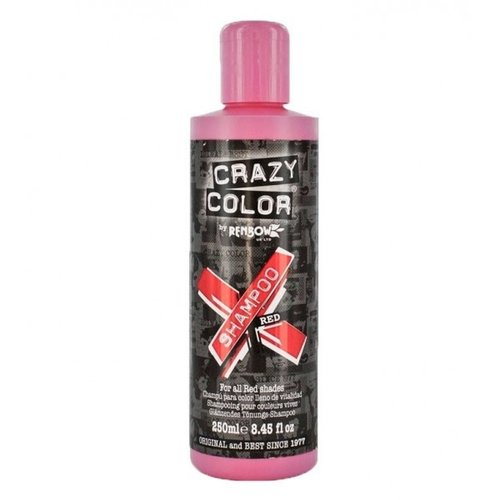 Crazy color Crazy Color Shampoo - Red 250 ml