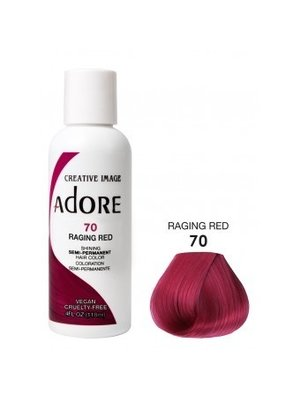 Adore Adore Semi-Permanent Hair Color - Raging Red 70 118ml