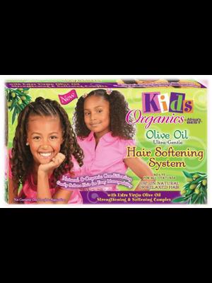 Africa's Best Kids Organics Olive Oil -  Ultra-Gentle Hair Softening System