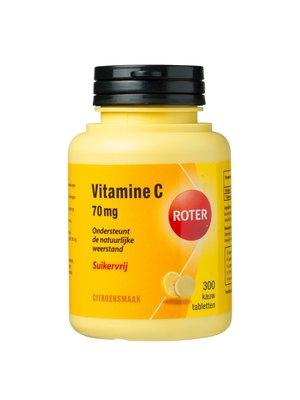 Roter Roter Vitamine C 70 Mg - Suikervrij 300 Kauwtabeletten