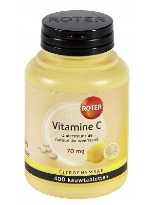 Roter Roter Vitamine C 70Mg - Kauwtabletten  400 Stuks