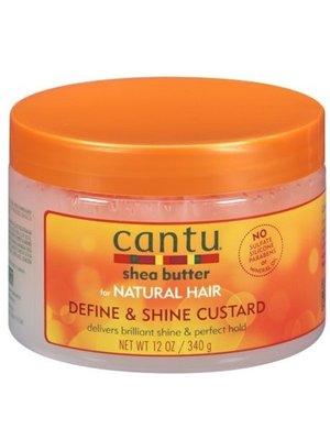 Cantu Cantu shea butter define & shine custard 340g