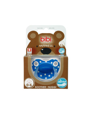 Bibi Bibi Happiness Fopspeen - Lovely Dots Roze 0-6 Maanden