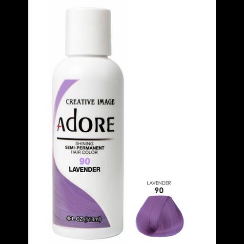 Adore Adore Semi-Permanent Hair Color - Lavender 90 118 ml