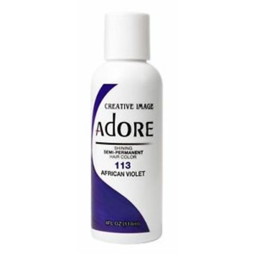 Adore Adore Semi-Permanent Hair Color - African Violet 113 118 ml