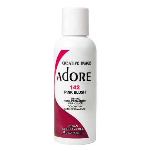 Adore Adore Semi-Permanent Hair Color - Pink Blush 142 118ml