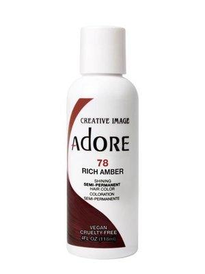 Adore Adore Semi-Permanent Hair Color - Rich Amber 78 118 ml