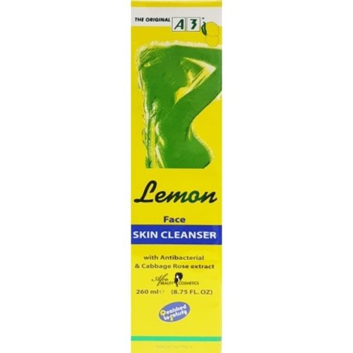 A3 lemon face skin cleanser 260 ml
