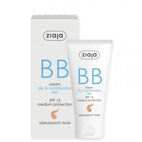 Image of Ziaja Ziaja BB Cream - Spf 15 Dark/Peach Tone 50 ml