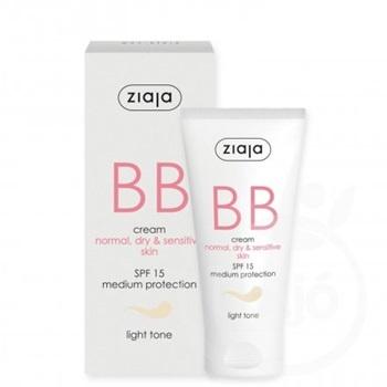 Image of Ziaja Ziaja BB Cream - Spf15 Light Tone 50 Ml