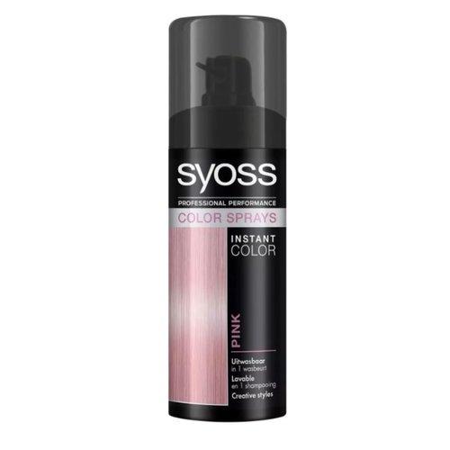 Syoss Syoss Colorspray - Pink 120ml