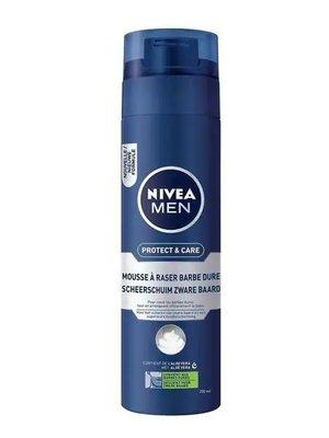 Nivea Nivea Men Scheerschuim - Protect & Care Zware Baard 200 ml