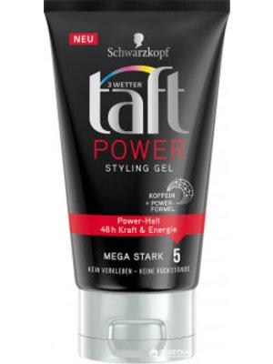 Taft Schwarzkopf Taft Power Stylig Gel - Mega Sterk 5 150 ml