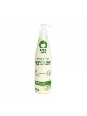 Afro love Afro Love Soft Curl Defining Jelly - Frizz Control Gel 290ml