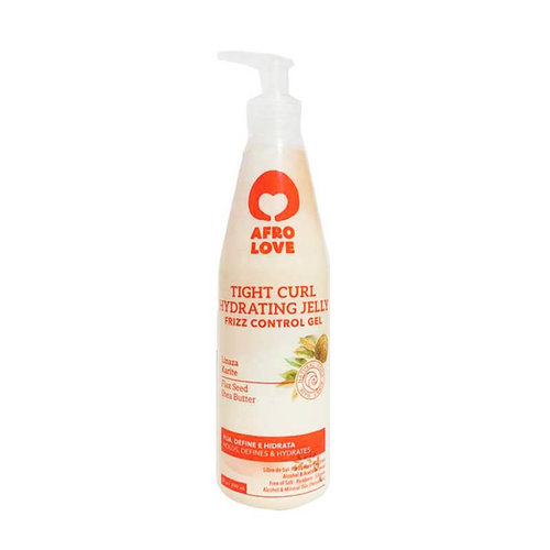 Afro love Afro Love Tight Curl Hydrating Jelly - Frizz Control Gel 290 ml
