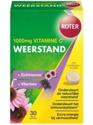 Roter Roter Pro C Weerstand - Forte 1000 mg