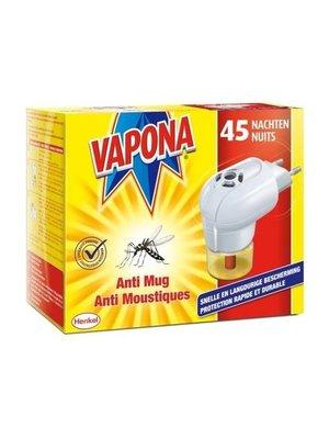 Vapona Vapona Elektrisch Anti Mug App & 1 Navul - 1 Stuks