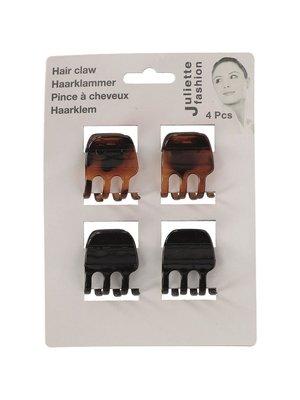 Lifetime Haarklemmen 3X3,5X3CM - 4 Stuks