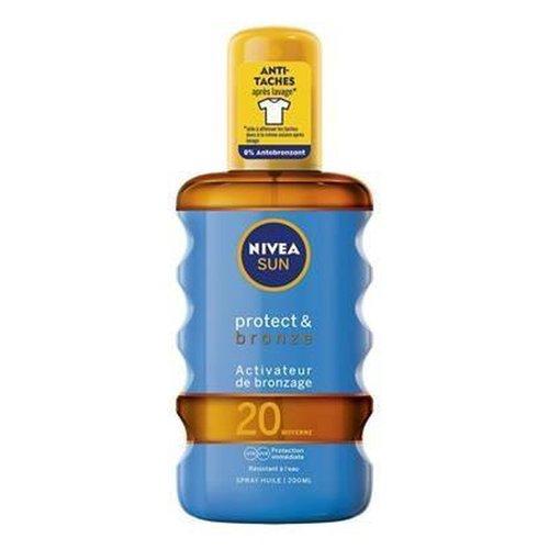 Nivea Nivea Sun Protect & Bronze - Spf 20 200ml