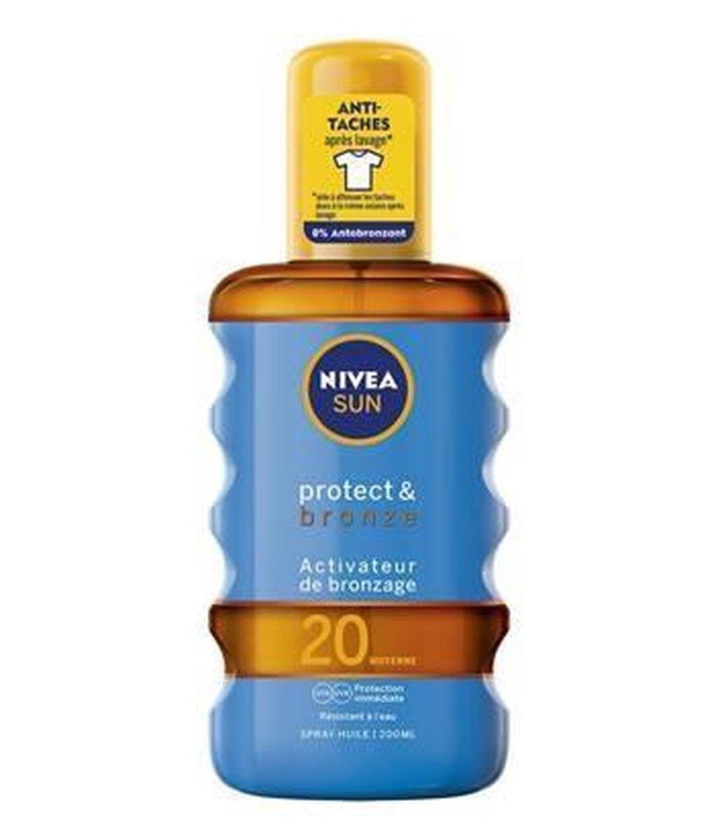 Image of Nivea Nivea Sun Protect & Bronze - Spf 20 200ml
