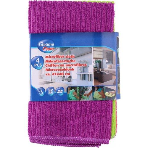 Lifetime Lifetime Clean - Microvezeldoek 41 X 48 Cm 4 Stuks